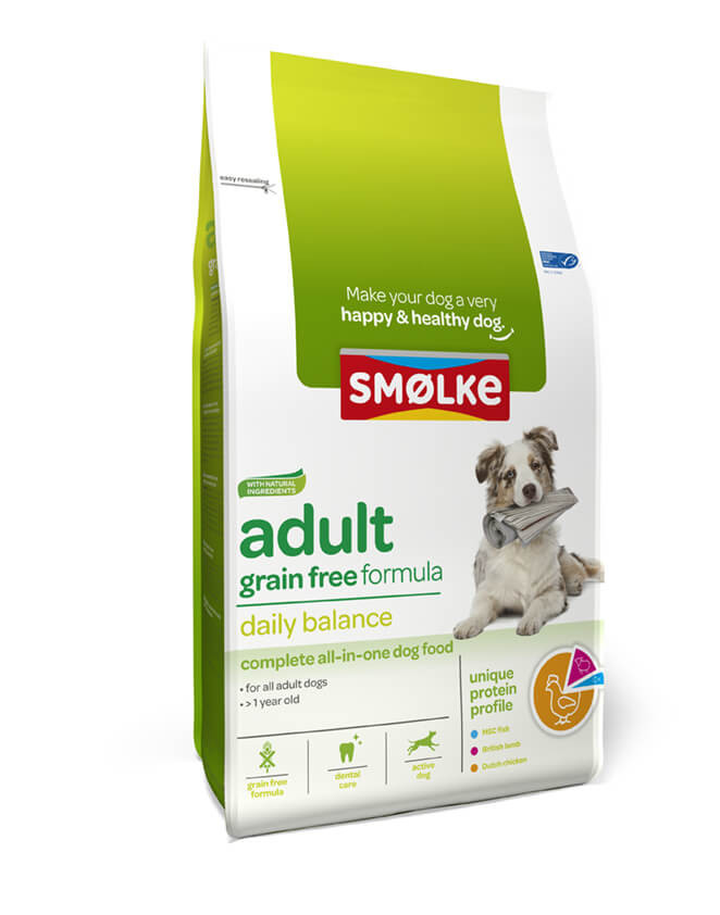 Smølke Adult graanvrij hondenvoer