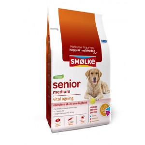 Smølke Senior Medium hondenvoer