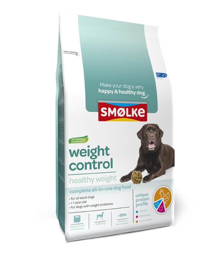 Smølke Weight Control hondenvoer