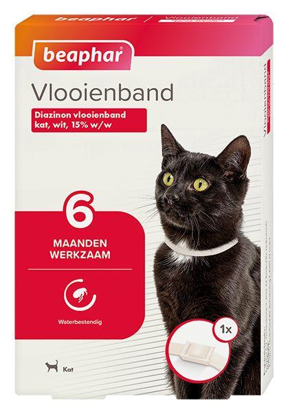 Beaphar Vlooienband (vanaf 6 maanden) kat