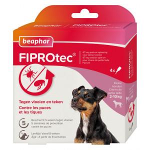 Beaphar Fiprotec Spot-On voor honden van 2 tot 10 kg