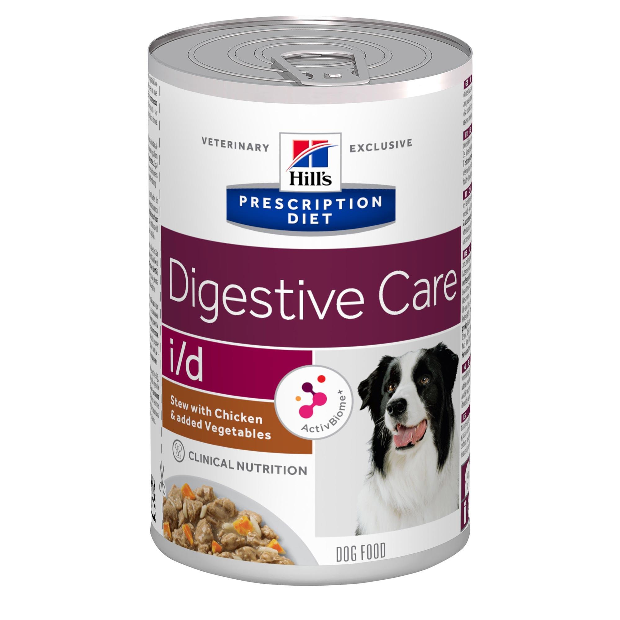 Hill's Prescription Diet I/D Stoofpotje 354 g blik hondenvoer