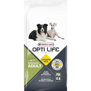 Opti Life Adult Medium hondenvoer