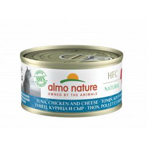Almo Nature HFC Cuisine tonijn, kip en kaas 70 gr
