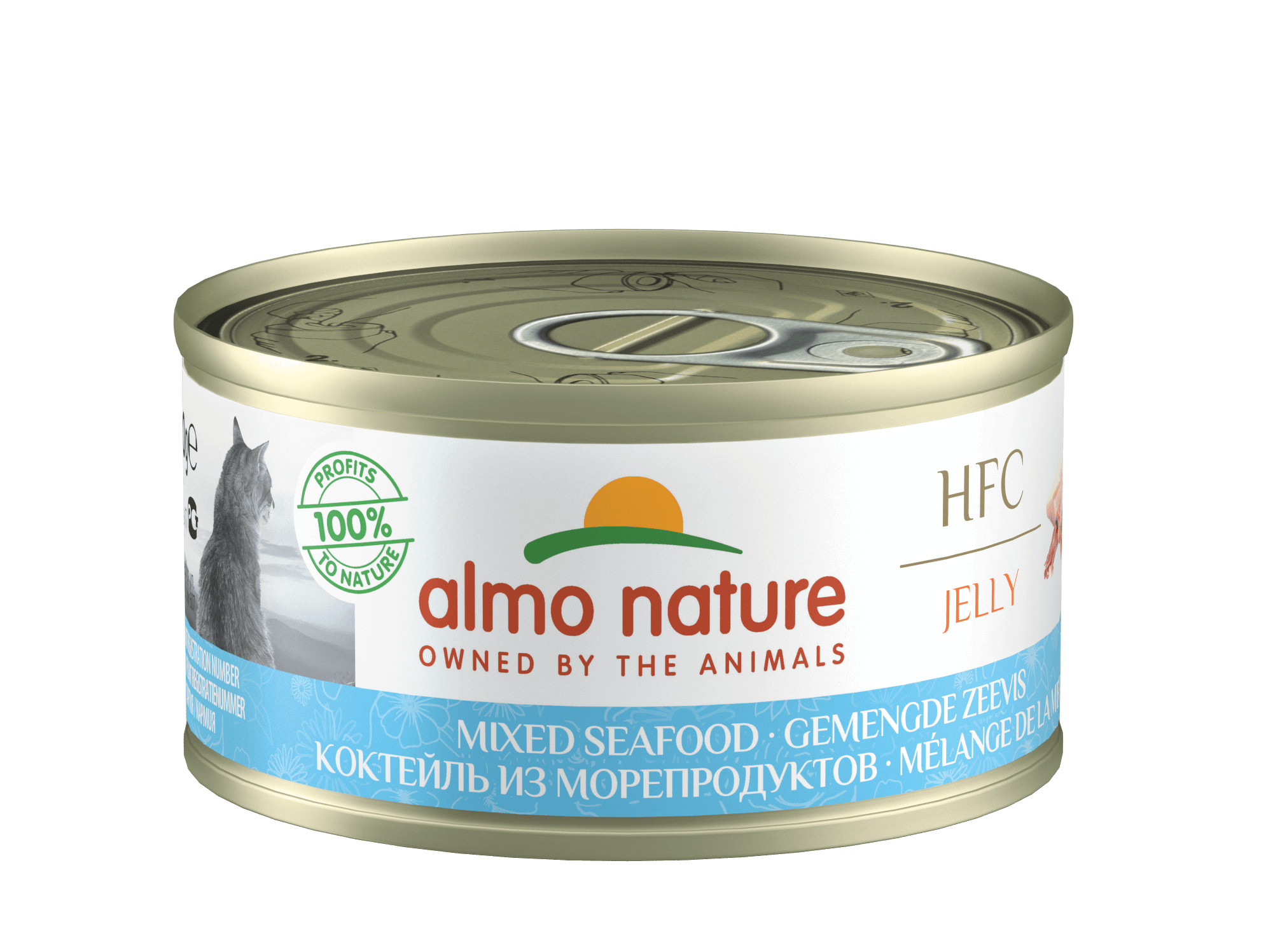 Almo Nature Natural Gemengde Zeevis 70 gr