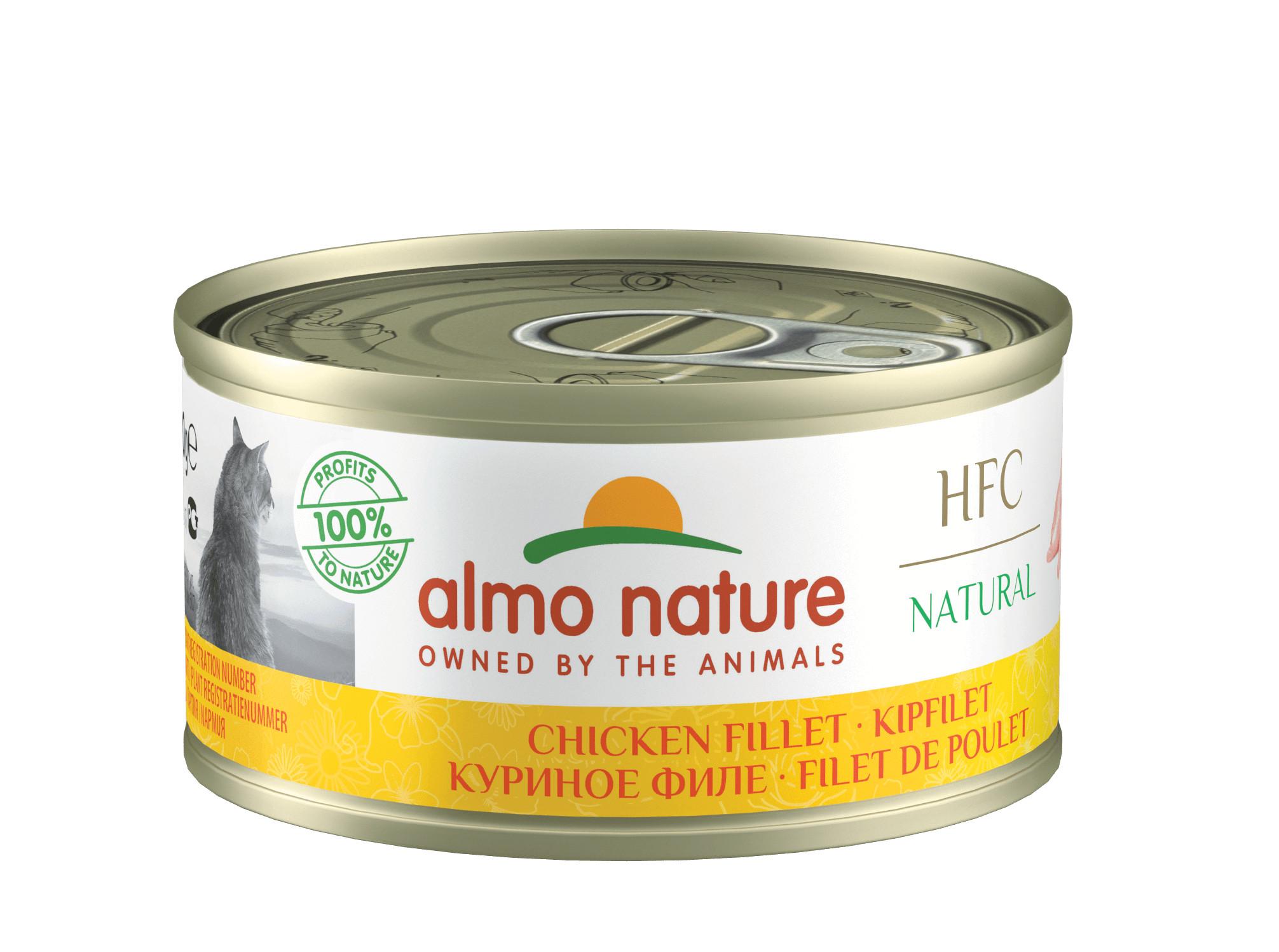 Almo Nature Natural Kipfilet 70 gr