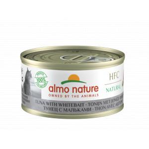 Almo Nature Natural Tonijn en Jonge Ansjovis 70 gr