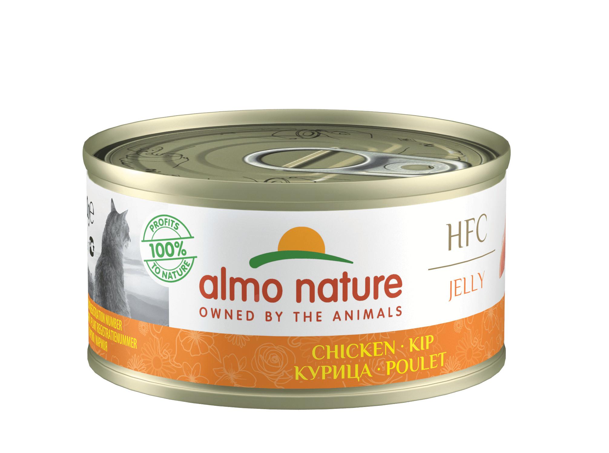 Almo Nature HFC Jelly Kip 70 gr