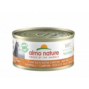 Almo Nature Natural Kip en Kaas 70 gr