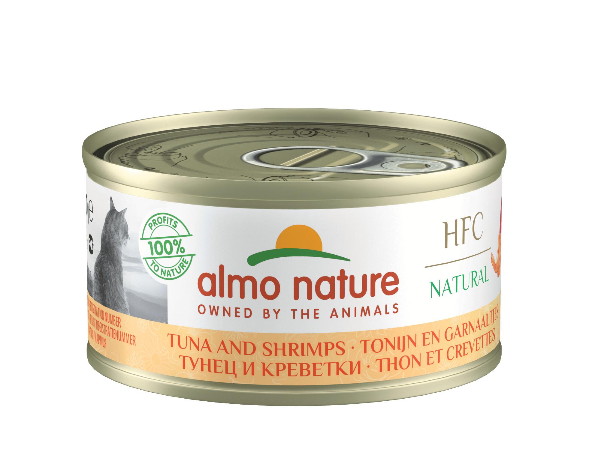 Almo Nature Natural Kip en Tonijn 70 gr