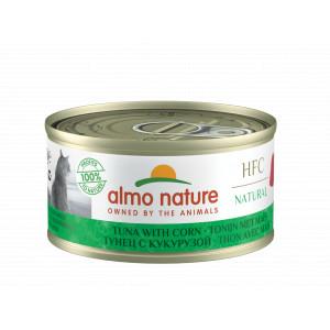 Almo Nature Natural Tonijn met Mais 70 gr