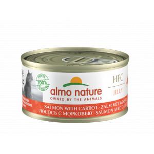 Almo Nature Zalm met Wortel 70 gr