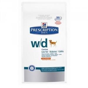 Hill`s Prescription Diet W D hondenvoer 12 kg