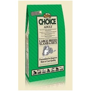 Nutro Choice Adult largebreed Lam Rijst Hondenvoer 2 x 12 kg