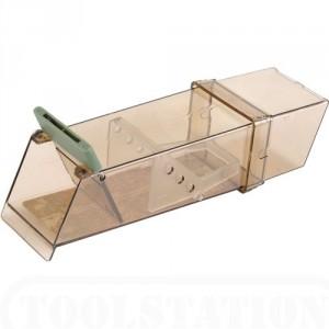 Plastic Leefval Trip Trap met deurtje voor muizen Per stuk