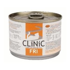 €1000000 Aanbieding Clinic Clinic FRI (nierproblemen) blikvoer kattenvoer 1 tray (24 blikken)