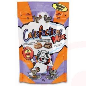 Catisfactions Mix Kip en Eend kattensnoep per verpakking