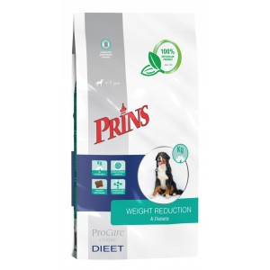 Prins Procare Croque Dieet Weight Reduction & Diabetic voor de hond 7.5 kg