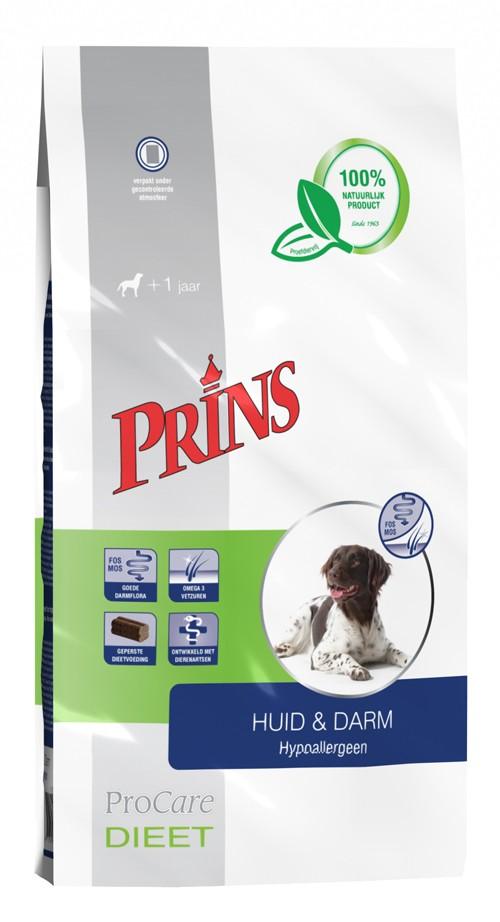 Prins Procare Dieet Huid & Darm Hypoallergeen voor de hond