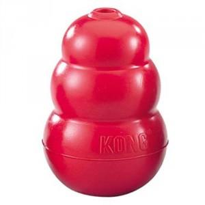 Kong Maat M voor de hond Rood