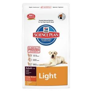 Hills Largebreed Light Adult hondenvoer 2 x (12 + 2,5) kg