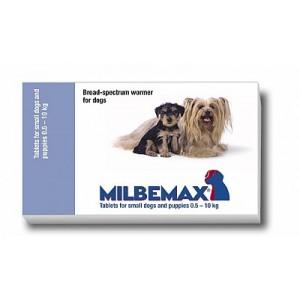 Milbemax Kleine honden en puppies Per tablet