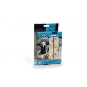 Quick Cooler Coolingsmat Beige voor de hond S