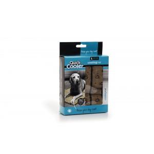 Quick Cooler Coolingsmat Bruin voor de hond