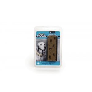 Quick Cooler Coolingscollar bruin voor de hond XS