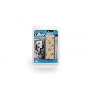 Quick Cooler Coolingscollar beige voor de hond XS