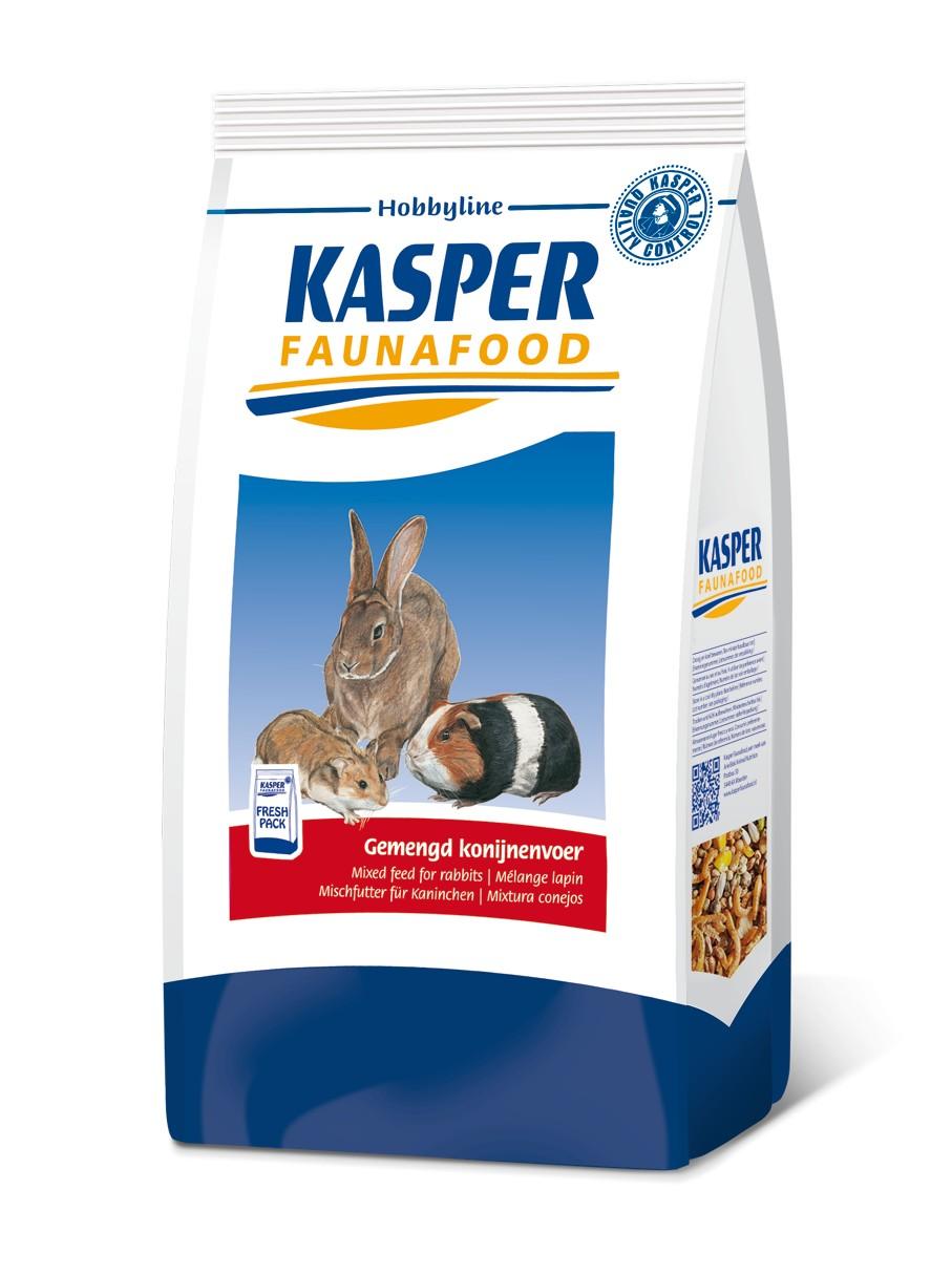 Kasper Fauna Gemengd Konijnenvoer