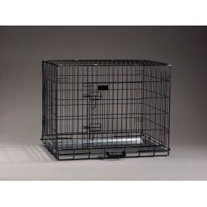 Benche Zwart 89 x 60 x 66 cm voor de hond 89 x 60 x 66 cm