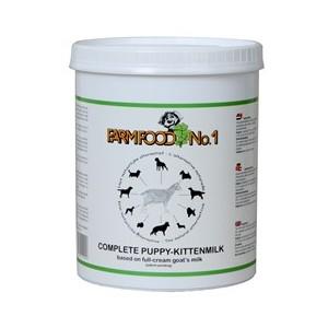 Farmfood puppy en kitten melk 500 gram