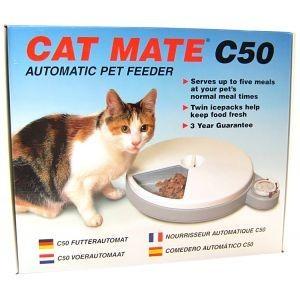 Catmate C50 Voederautomaat voor kat en hond Per stuk