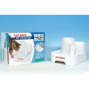 Catmate Multi Level Water Fountain voor kat en hond 2 liter