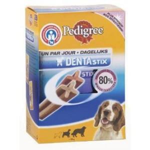 Dentastix van 10 tot 25 kg voor de hond Pakje 7 stuks