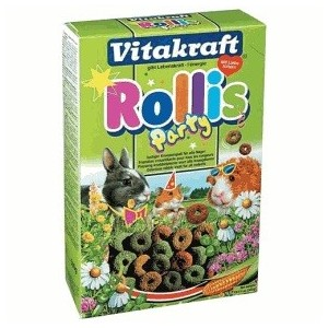 Vitakraft Rollis Party Knaagdiersnacks Rollis Party