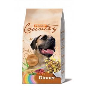 Fokker Country Dinner Hondenvoer 3 kg OP is OP