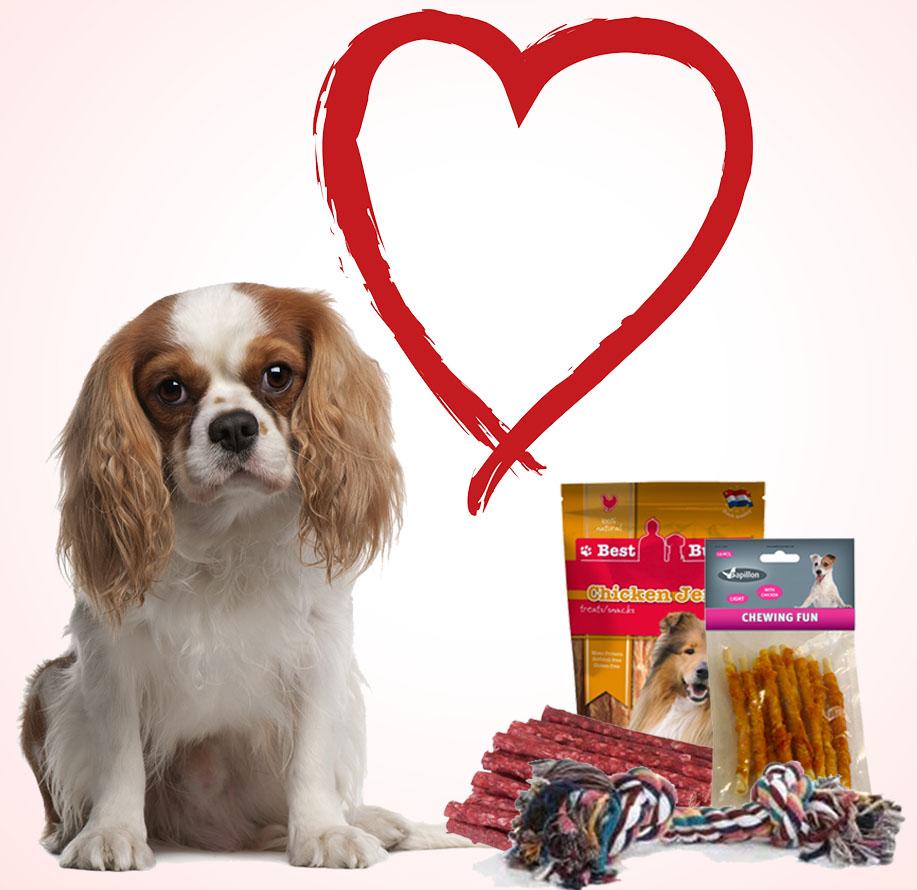 Valentijnspakket voor honden