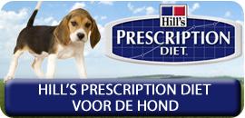 Hill's prescription Diet voor de Hond