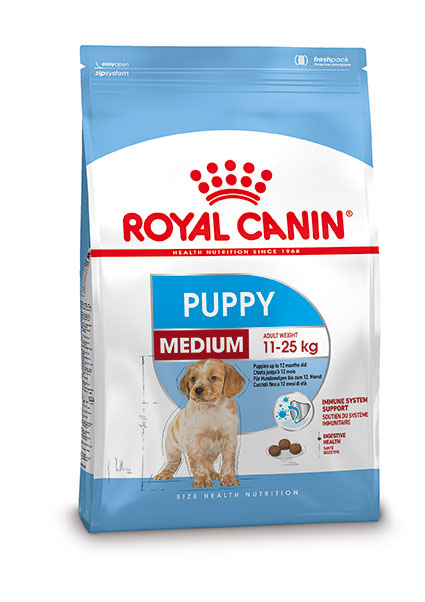 Royal Canin Medium Puppy hondenvoer 15 + 3 kg gratis